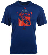 Majestic Men's New York Rangers Solid Win Synthetic T-Shirt