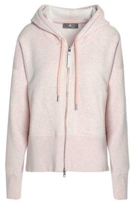 adidas by Stella McCartney Melange French Cotton-blend Terry Hoodie
