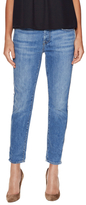 7 For All Mankind Josefina Denim Distressed Side Cropped Jean