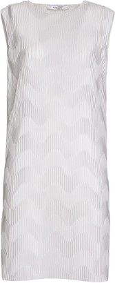 Givenchy Pleated Dress In White