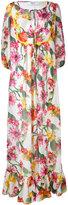 Blugirl floral maxi dress