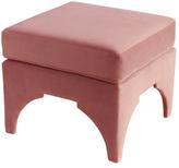 Skyline Furniture Pillow Top Square Ottoman