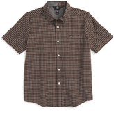 Volcom Arthur Check Woven Shirt (Big Boys)