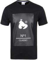 Money No1 Classic Jet Black Crew Neck T-shirt