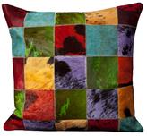 Nourison Leather Hide Pillow