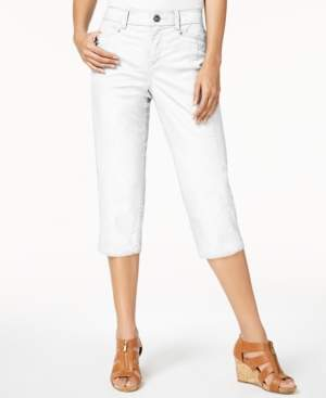Style&Co. Style & Co Split-Hem Capri Pants, Created for Macy's