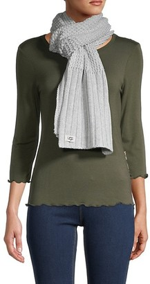 UGG Textured Knit Scarf
