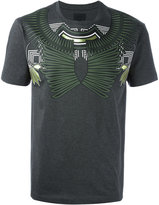 Les Hommes geometric chest print T-shirt - men - Cotton - S