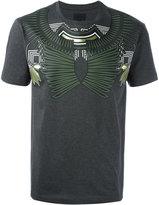 Les Hommes geometric chest print T-shirt - men - Cotton - S