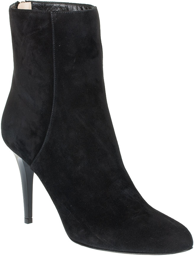 Jimmy Choo Brock suede leather ankle boot