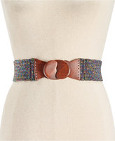 INC International Concepts Beaded Stretch Belt, Only at Macy's