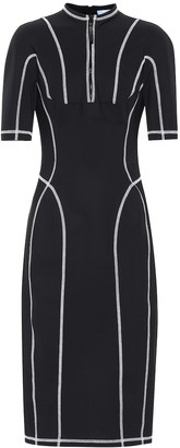 Thierry Mugler Scuba midi dress