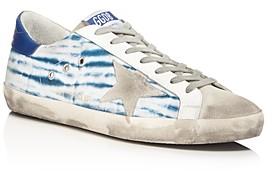 Golden Goose Unisex Superstar Tie-Dye Canvas Sneakers - 100% Exclusive