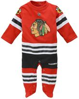 Reebok Baby Chicago Blackhawks Footed Bodysuit
