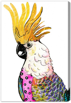 Oliver Gal Expensive Cockatoo Canvas Art