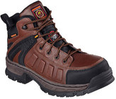 Skechers Men's Relaxed Fit Vinten Gurdon Comp Toe Boot