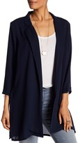 Bobeau Notch Lapel Woven Jacket