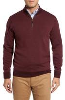 Peter Millar Men's Quarter Zip Wool Pullover
