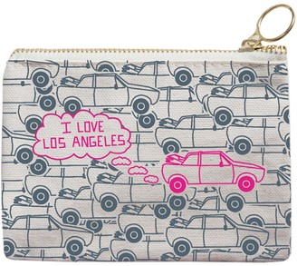 Lucky Brand Maptote Los Angeles Coin Purse