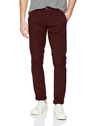 Selected Men's Shhoneluca Decadent Choco St Pants Noos Trouser, Brown Chocolate, W34/L32 (Size: 34)