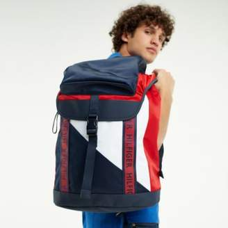 Tommy Hilfiger Contrast Flap Backpack