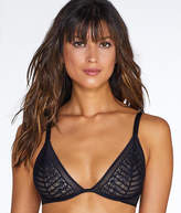 Lily of France Sheer Striped Bra - Women's