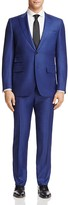 Canali Textured Stripe Classic Fit Suit