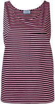 Prada striped shift tank - women - Cotton - XS