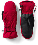 Lands' End Women's Squall Mittens-Black