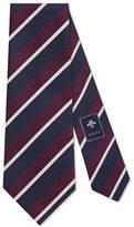 Gucci Striped silk wool tie