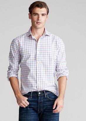 Ralph Lauren Classic Fit Plaid Poplin Shirt