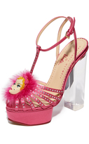 Charlotte Olympia Barbie Girl Platform Sandals