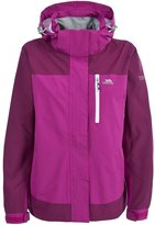 Trespass Womens/Ladies Elisha Waterproof Full Zip Jacket (XXL)