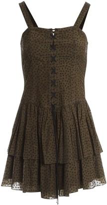 Edun Khaki Cotton Dresses
