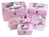Disney Minnie Mouse Retro Nested Dome Trunks (Set of 5)