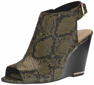 Kenneth Cole New York Women's Wedged Open Toe Pump