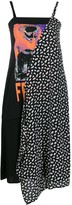 Thumbnail for your product : McQ Asymmetric Flared Midi Dress