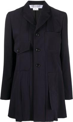 Comme des Garçons Comme des Garçons Front Pocket Pleated Blazer Jacket