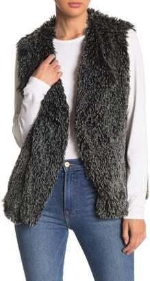 Michael Stars Faux Fur Sleeveless Vest
