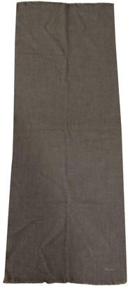 Prada Grey Wool Scarves & pocket squares