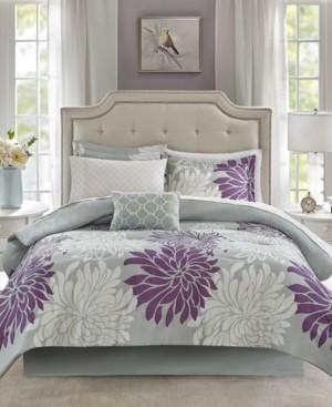 Madison Park Essentials Arlene Reversible 7-Pc. Twin Comforter Set Bedding