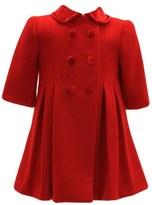 Isabel Garreton 'New York' Double Breasted Wool Coat (Baby Girls)