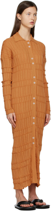 Thumbnail for your product : RUS SSENSE Exclusive Tan Comete Dress