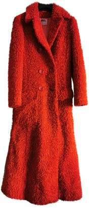 Fiorucci Orange Synthetic Coats