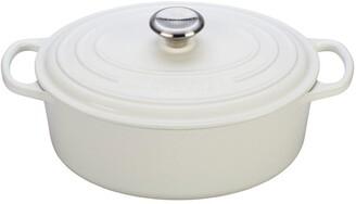 Le Creuset Signature 5 Quart Oval Enamel Cast Iron French/Dutch Oven