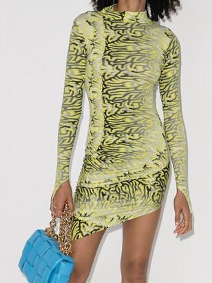 MAISIE WILEN Orbit City bodycon mini dress