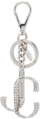 Jimmy Choo Fairie crystal-embellished keyring