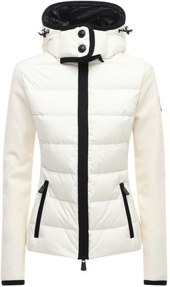 MONCLER GRENOBLE Polar Tech & Nylon Down Jacket