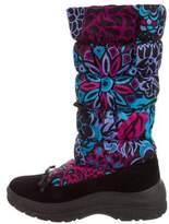 Emilio Pucci Printed Snow Boots