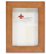 Lawrence Frames 766023 Nutmeg Wood Picture Frame, 2.5 by 3.5-Inch